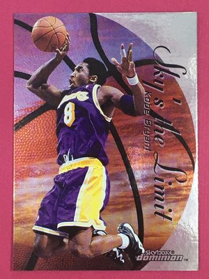 1999-00 SkyBox Dominion Sky's the Limit Kobe Bryant Lakers