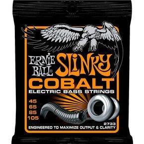 傑禾樂器 ~ Ernie Ball COBALT HYBRID SLINKY BASS Strings 2733 貝士弦