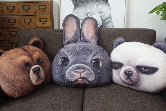 ☆║♥愷心小舖♥║ ☆日本🇯🇵 超欠揍 兔子 熊熊 熊貓 抱枕