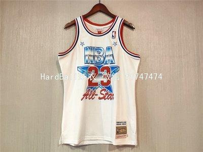 麥可·喬丹(Michael Jordan)NBA芝加哥公牛隊球衣 復古全明星賽 23號