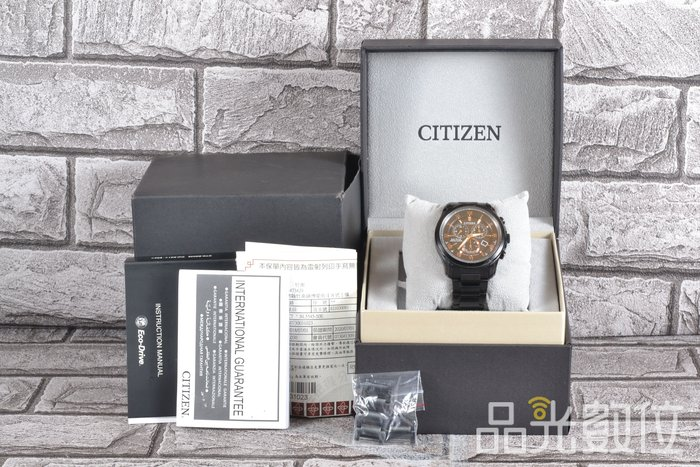 【品光數位】CITIZEN 星辰 BL5545-50E Eco-Drive光動能 萬年曆 計時錶 石英錶 #81180