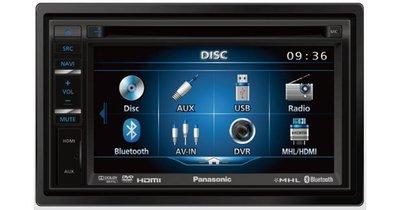 【Panasonic】6.1吋DVD/USB/AUX/HDMI/藍芽/導航/倒車/觸控螢幕主機CV-VB600T 多功能
