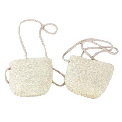 【贈品禮品】A4539 編織背袋/DIY包彩繪美勞道具用具/兒童塗鴉包美術材料/戶外編織水壺袋斜背包/贈品禮品