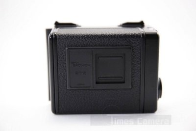 【日光徠卡】Zenza 二手 Bronica ETR 120 Film Back Holder 日製