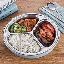 便當盒 304不鏽鋼保溫分格飯盒成人大號便當盒學生餐盒圓形分隔密封餐盤【全館免運】