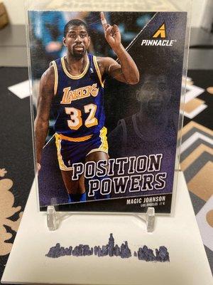 Magic Johnson 13/14 Pinnacle #2 Position Powers
