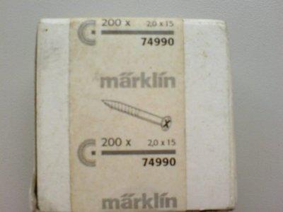 HO 74990 MARKLIN~Track Screws for C Track