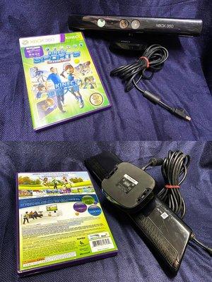 Microsoft Xbox360 Kinect 體感攝影機*1、體感遊戲*1