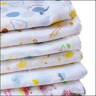 **全新可愛雙層10色纱布方巾全棉雙層 纱布手帕 無螢光劑~現貨~