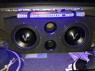 雙12(雙磁雙音)EVE重低音 +++毒蛇5000擴大機