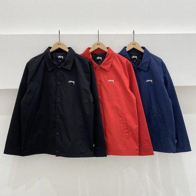 ☆ETW☆【一中店】 STUSSY CLASSIC COACH JACKET 風衣外套 教練外套 夾克