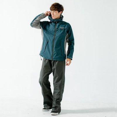 [安信騎士] BRIGHTDAY Aero 9項專利 透氣 兩件式 風雨衣 墨綠 雨衣 A9