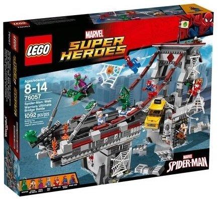 【W先生】LEGO超級英雄 76057蝙蝠俠 Web Warriors Ultimate Bridge2016新品