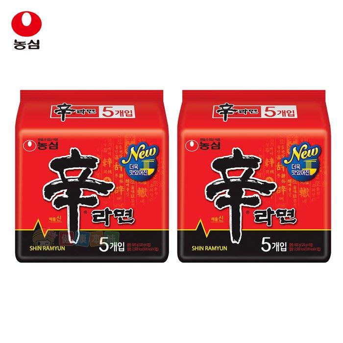 韓國農心辛拉麵10入組(共2袋)  泡麵 [KR809]健康本味
