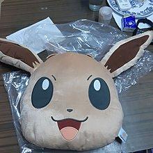 伊貝 cushion Pokemon life with EEVEE Huge Eevee Face Cushion