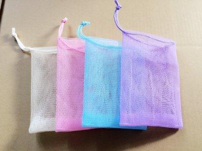 台灣製 10*15cm 雙層肥皂袋4色任選一個特價8元 手工皂皂袋   無吸盤 台灣製喔^^b