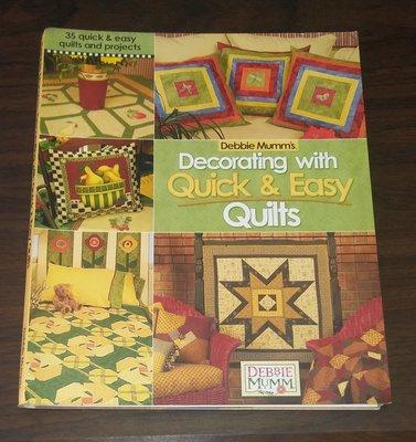 手工藝~ 拚布 Decorating with Quick & Easy Quilts ◎大納悶泡泡書屋 (BB43)