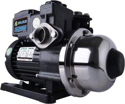 【泵浦五金】大井TQ 200*1/4HP電子穩壓加壓馬達*加壓機*低噪音 TQ200B