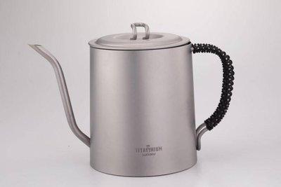 【綠色工場】TI-039 鈦讚咖啡壼
