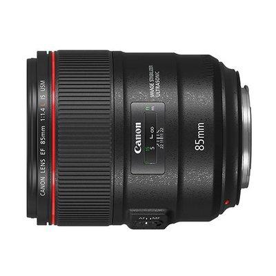 【中野數位】Canon EF 85mm f1.4 L IS USM 人像定焦鏡頭/佳能公司貨
