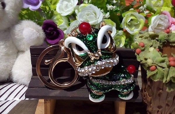 ☆創意小物店☆ 祥獅獻瑞 鑰匙扣/創意可愛金屬鑰匙圈 時尚造型個性飾品