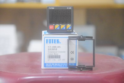 陽明Fotek PID+Fuzzy 溫度控制器 NT-48-RS 含RS485通訊功能