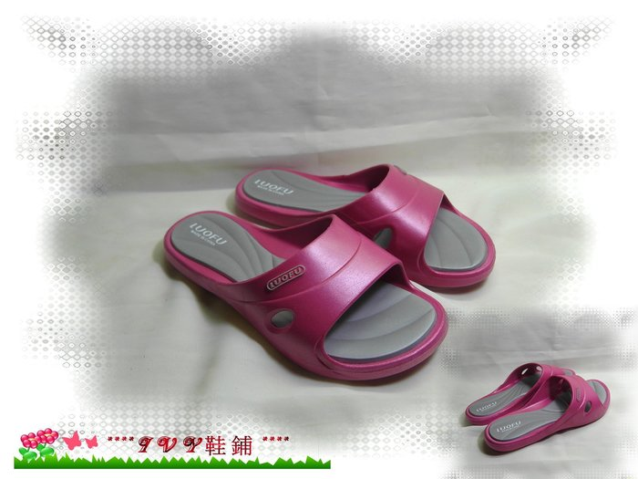 ~~~~ivy鞋舖~~~~㊣↘黑.紫.紅色↙㊣止滑軟底拖鞋~編號3060~ 品