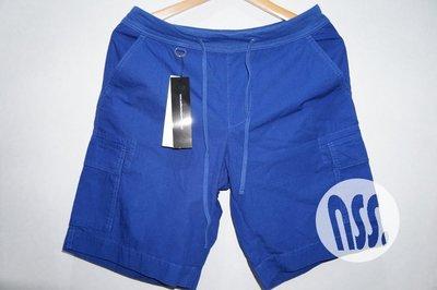 特價「NSS』uniform experiment WAIST RIB EASY CARGO SHORTS 六口袋短褲S