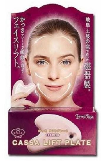【美日愛買 現貨】日本直送 COGIT loved face 臉部按摩瓷器 小臉 V臉 刮痧板 自取/超取