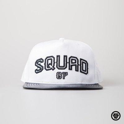 (MARVELOUS) SQUAD 2015 FW SQ07 皇家錨拼接帽 Royal Anchor Cap 白色
