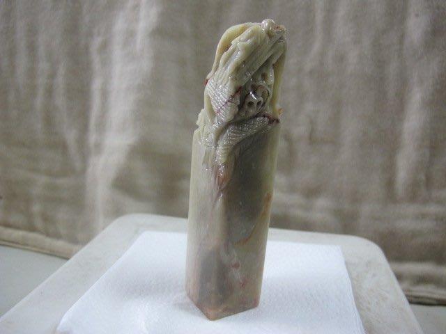 二手舖 NO.4299 原石 壽山石 造型雕件印材 印章 印鑑