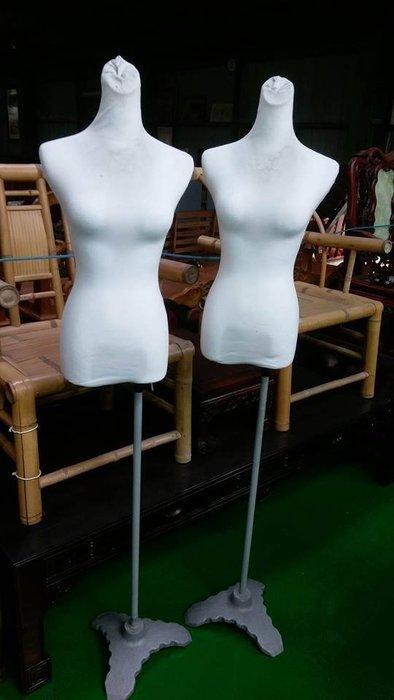 宏品二手家具館 台中便宜家中古傢俱賣場 *D7725-1模特兒*2手貨拍賣 服飾店用品 展示櫃 吊衣架 吊衣桿