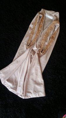 3.1 phillip lim 細金屬鎖鏈領飾 裸膚 米色 罩衫