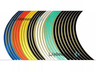 高品質YAKUZA 輪框貼紙  10吋 12吋