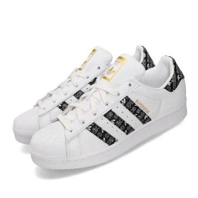 ADIDAS ORIGINAL SUPERSTAR 白 黑小logo 金標 情侶鞋 男女