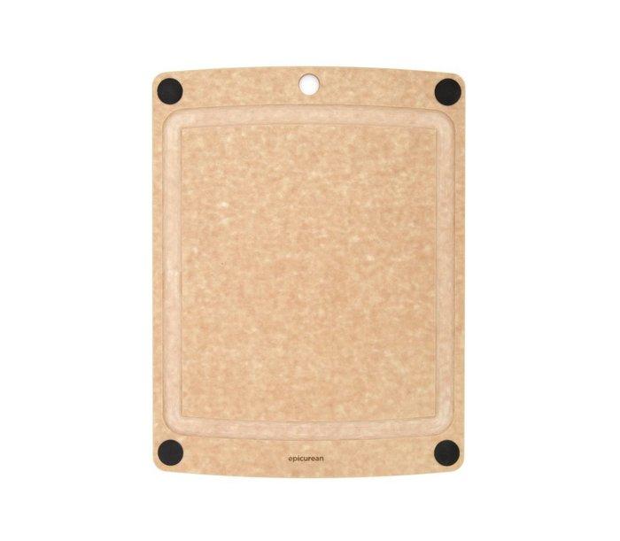 【Sunny Buy 生活館】Epicurean二合一砧板 防滑防污 44.5x33 凹槽 美國製 不傷菜刀