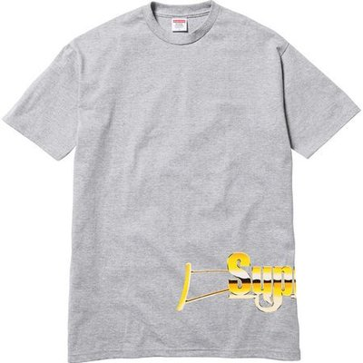 (TORRENT) 2017 Supreme Automatic  Tee 白 黑 灰 M L XL