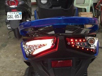 新廣科技 JET S 125 LED 導光 尾燈 套件 贈方向燈 繼電器 跑馬燈 控制器 小燈 煞車燈 模組 導光條 柱