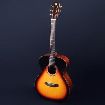 【又昇樂器 . 音響】AYERS AS-SBW 全單板 木吉他 民謠吉他奧森弦釘裝置