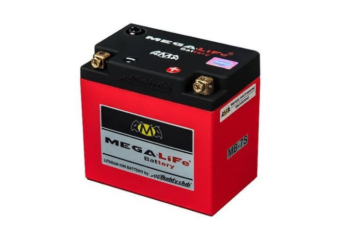 台北皇欣 MegaLife Battery 機車 磷酸鐵 鋰電池 MB-7L LEP7L-BS