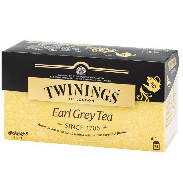 唐寧 皇家伯爵茶包《TWININGS 唐寧》英國EARL GREY TEA2*25入/盒--【良鎂咖啡精品館】