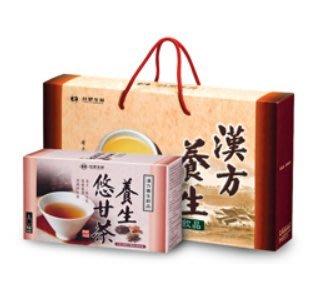 【台塑生醫-茶飲系列】養生悠甘茶禮盒(4入) 只要1400元 免運費