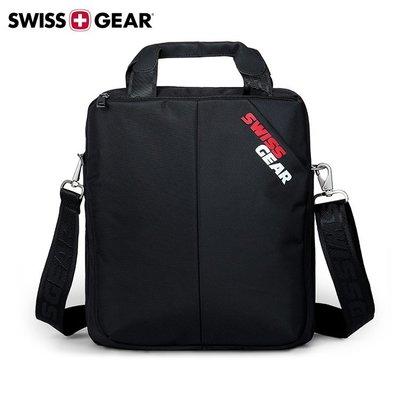 SG-60側背包 正新品SWISSGEAR 瑞士軍刀 單肩包 斜跨包 10吋iPad 平板 休閒包 方形 尼龍 黑色