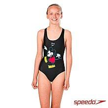 SPEEDO 泳裝 少女泳裝 米奇泳裝 大童泳裝 尺寸:24~34