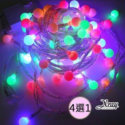 X射線【X900014】100燈珍珠線燈+IC(4選1-四彩.粉紫.藍白.暖白), 聖誕樹/LED燈飾/聖誕造型燈