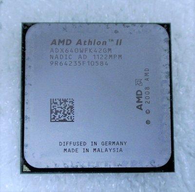 ~ 駿朋電腦 ~ AMD Athlon II X4 640 3.0G AM3 ADX640WFK42GM $400