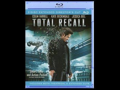 【BD藍光】攔截記憶碼:雙碟導演版Total Recall(台灣繁中字幕) 柯林法洛