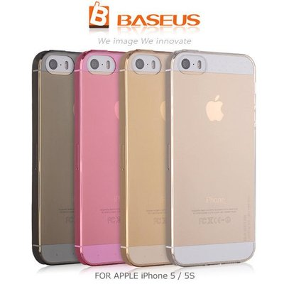 *PHONE寶*BASEUS 倍思 APPLE iPhone 5 5S 逸透保護套 透明殼 保護套 保護殼