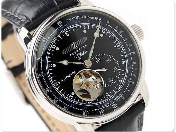 ZEPPELIN 齊柏林飛船 手錶 機械錶 100週年 41mm 德國 飛行錶 7662-2