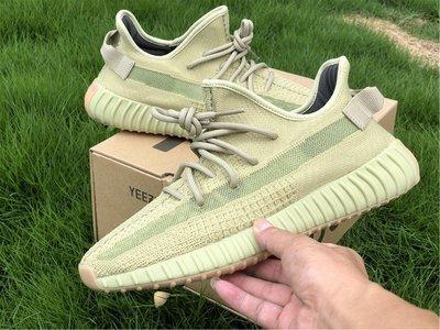 "Adidas Yeezy Boost 350 v2 ""Sulfur""抹茶綠 休閒運動 慢跑鞋 FY5346 男女鞋"